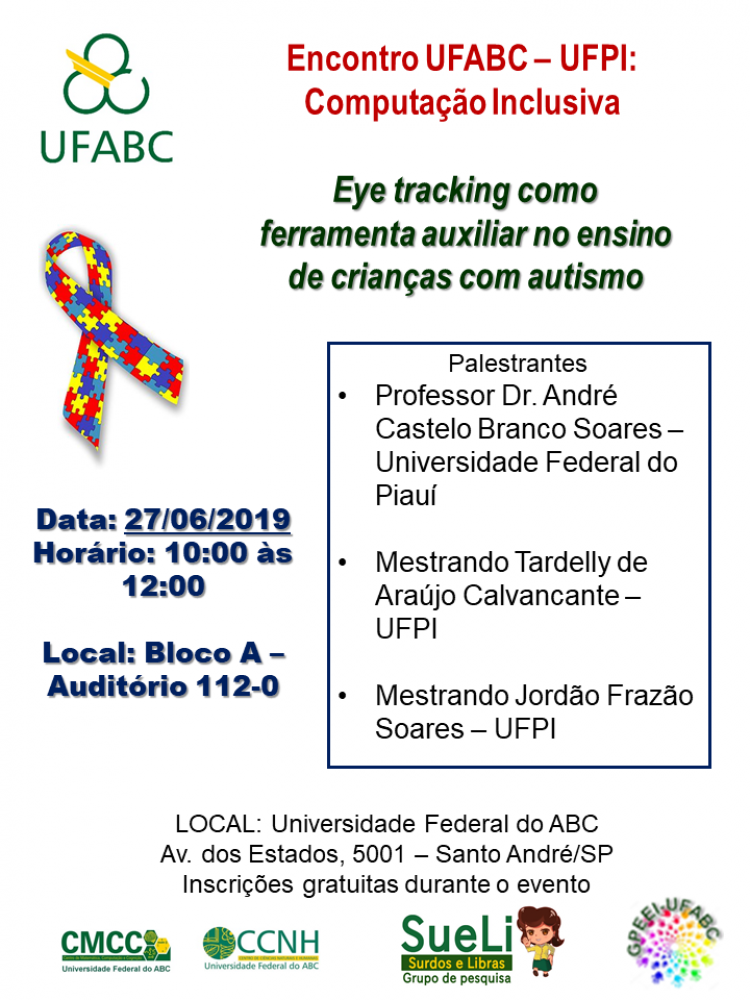 Folder Palestra Autismo e Eye Tracking